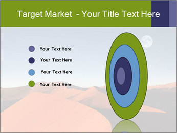 Red sand dune PowerPoint Template - Slide 84