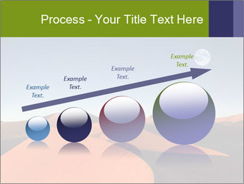 Red sand dune PowerPoint Template - Slide 87
