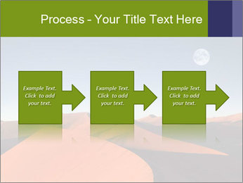 Red sand dune PowerPoint Template - Slide 88