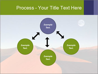 Red sand dune PowerPoint Template - Slide 91