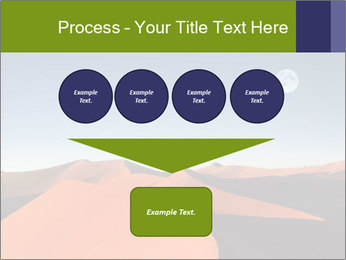 Red sand dune PowerPoint Template - Slide 93
