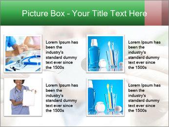 Dentist mirror PowerPoint Template - Slide 14