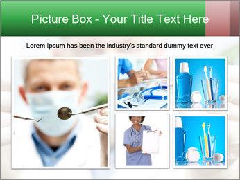 Dentist mirror PowerPoint Template - Slide 19