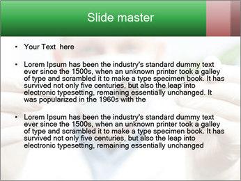Dentist mirror PowerPoint Template - Slide 2