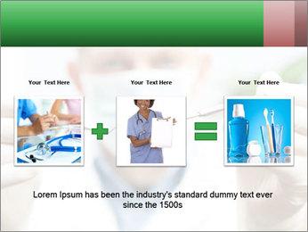 Dentist mirror PowerPoint Template - Slide 22