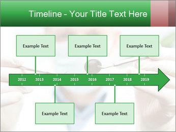 Dentist mirror PowerPoint Template - Slide 28