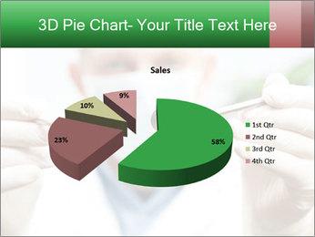 Dentist mirror PowerPoint Template - Slide 35