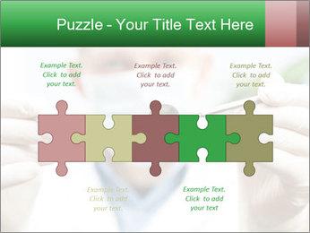 Dentist mirror PowerPoint Template - Slide 41