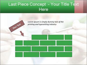 Dentist mirror PowerPoint Template - Slide 46