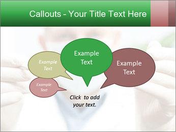 Dentist mirror PowerPoint Template - Slide 73