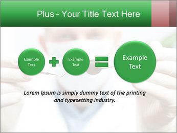 Dentist mirror PowerPoint Template - Slide 75