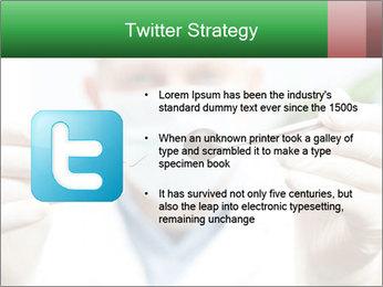 Dentist mirror PowerPoint Template - Slide 9