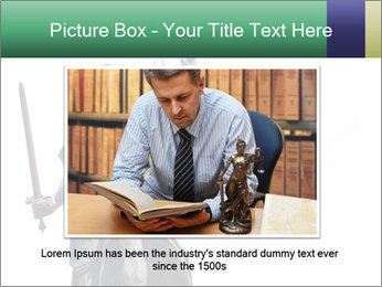 Justitia PowerPoint Template - Slide 15