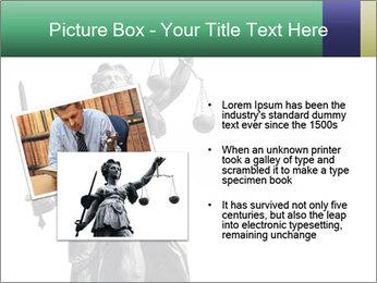 Justitia PowerPoint Template - Slide 20