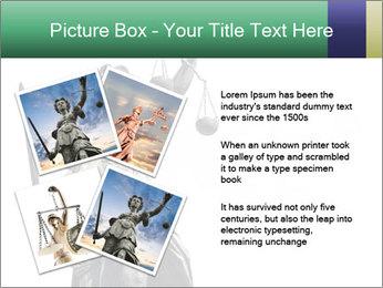 Justitia PowerPoint Template - Slide 23