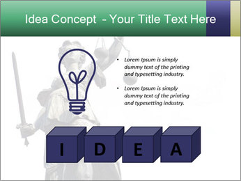 Justitia PowerPoint Template - Slide 80