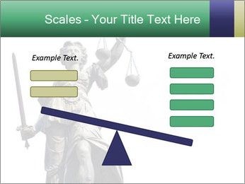 Justitia PowerPoint Template - Slide 89