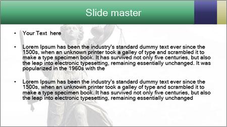 Justitia PowerPoint Template - Slide 2