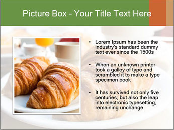 Breakfast with coffee PowerPoint Template - Slide 13