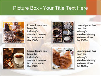 Breakfast with coffee PowerPoint Template - Slide 14
