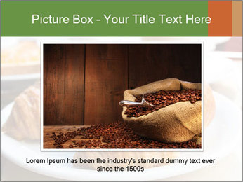 Breakfast with coffee PowerPoint Template - Slide 15