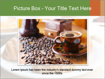 Breakfast with coffee PowerPoint Template - Slide 16