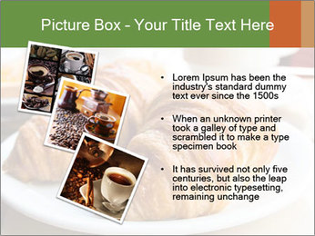 Breakfast with coffee PowerPoint Template - Slide 17