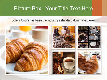 Breakfast with coffee PowerPoint Template - Slide 19