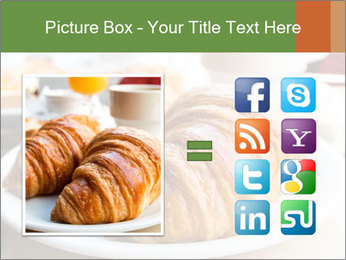 Breakfast with coffee PowerPoint Template - Slide 21