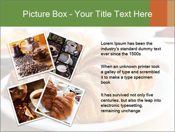 Breakfast with coffee PowerPoint Template - Slide 23