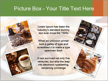 Breakfast with coffee PowerPoint Template - Slide 24