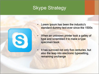 Breakfast with coffee PowerPoint Template - Slide 8