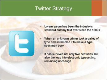 Breakfast with coffee PowerPoint Template - Slide 9