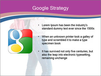 Female student PowerPoint Template - Slide 10