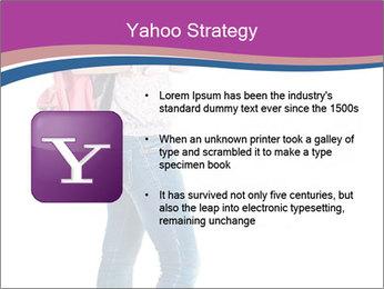 Female student PowerPoint Template - Slide 11