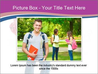 Female student PowerPoint Template - Slide 15