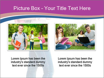 Female student PowerPoint Template - Slide 18