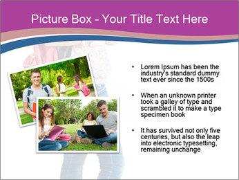 Female student PowerPoint Template - Slide 20