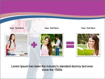 Female student PowerPoint Template - Slide 22