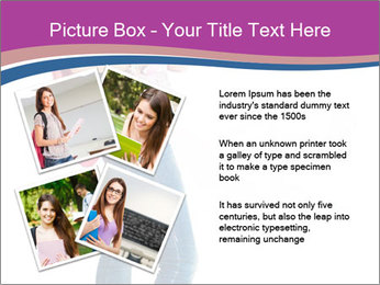Female student PowerPoint Template - Slide 23
