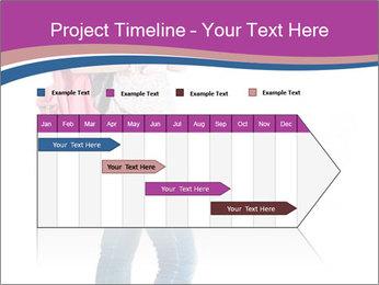 Female student PowerPoint Template - Slide 25