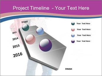 Female student PowerPoint Template - Slide 26