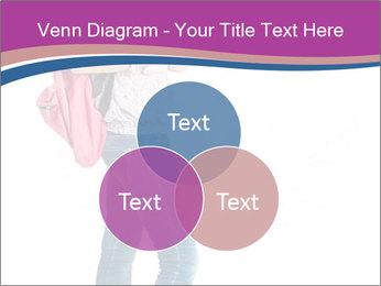 Female student PowerPoint Template - Slide 33