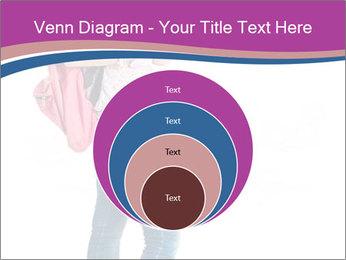 Female student PowerPoint Template - Slide 34