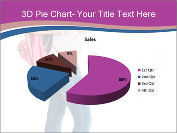 Female student PowerPoint Template - Slide 35