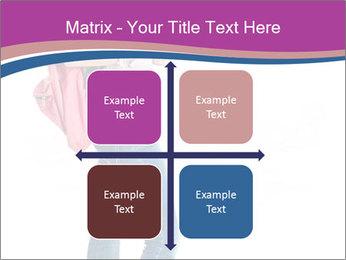 Female student PowerPoint Template - Slide 37