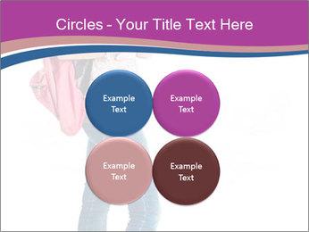 Female student PowerPoint Template - Slide 38
