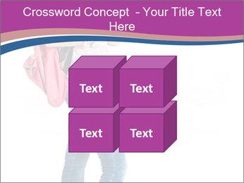 Female student PowerPoint Template - Slide 39