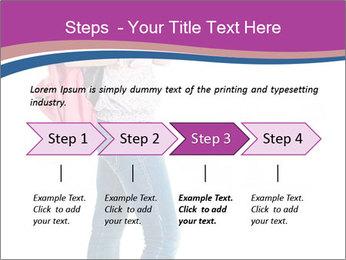 Female student PowerPoint Template - Slide 4
