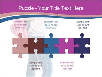 Female student PowerPoint Template - Slide 41